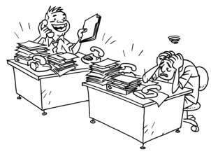 Happy hour is van 9 tot 5 wat is gelukkig zijn op het werk - Decoreer zijn kantoor op het werk ...